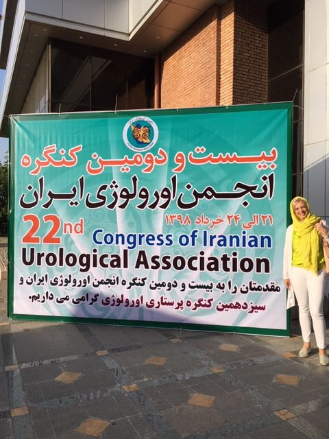 LECTURE ON PELVIC PHYSIOTHERAPY at Iranian urological association (IUA) congress (2019)