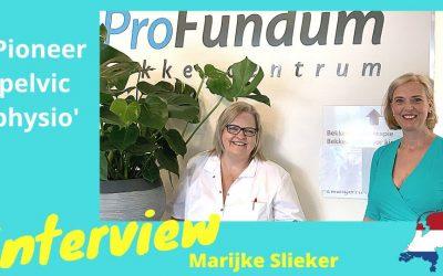 Marijke Slieker | Interview with pioneer pelvic physiotherapist